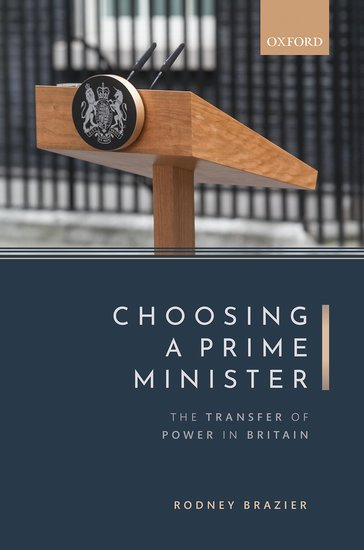 Choosing a Prime Minister book cover