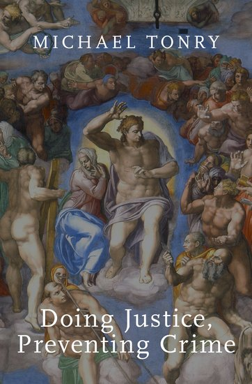 Doing Justice, Preventing Crime by Michael Tonry book cover