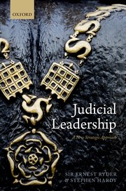 Judicial Leadership Book Cover